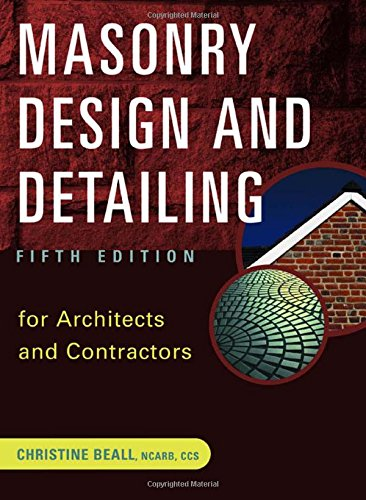 Masonry Design and Detailing free download