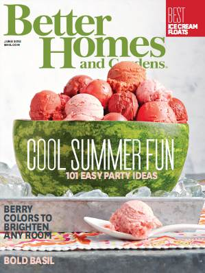 Better Homes And Gardens Usa June 2015 Free Download