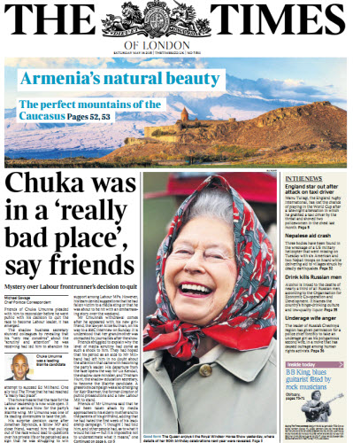 The London Times May 16 2015 free download
