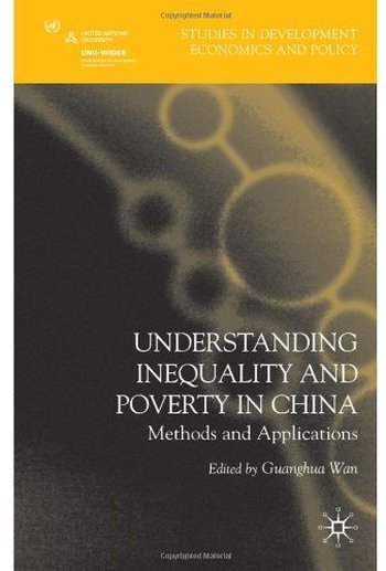 Understanding Inequality and Poverty in China: Methods and Applications free download