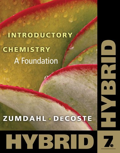 Introductory Chemistry: A Foundation, Hybrid, 7 edition free download