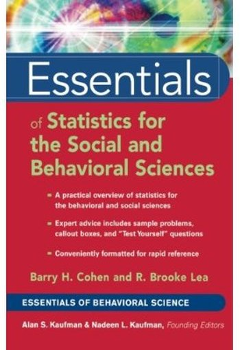 Essentials of Statistics for the Social and Behavioral Sciences free download