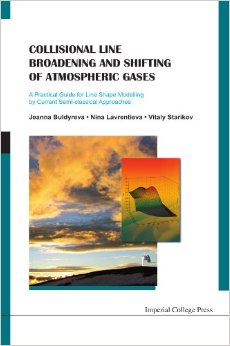 Collisional Line Broadening and Shifting of Atmospheric Gases free download