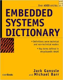 Embedded Systems Dictionary free download