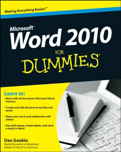 Word 2010 For Dummies free download