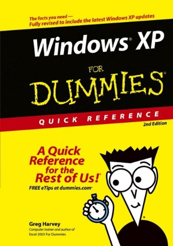 Windows XP for Dummies Quick Reference by Greg Harvey free download