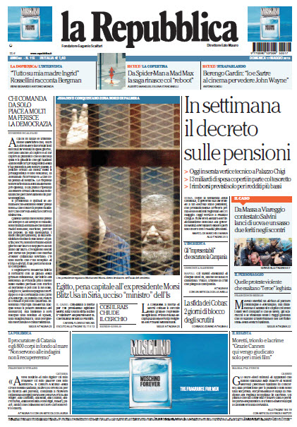 La Repubblica - 17.05.2015 free download