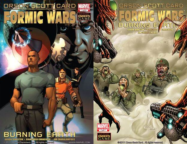Formic Wars - Burning Earth #1-7 (2011) Complete free download