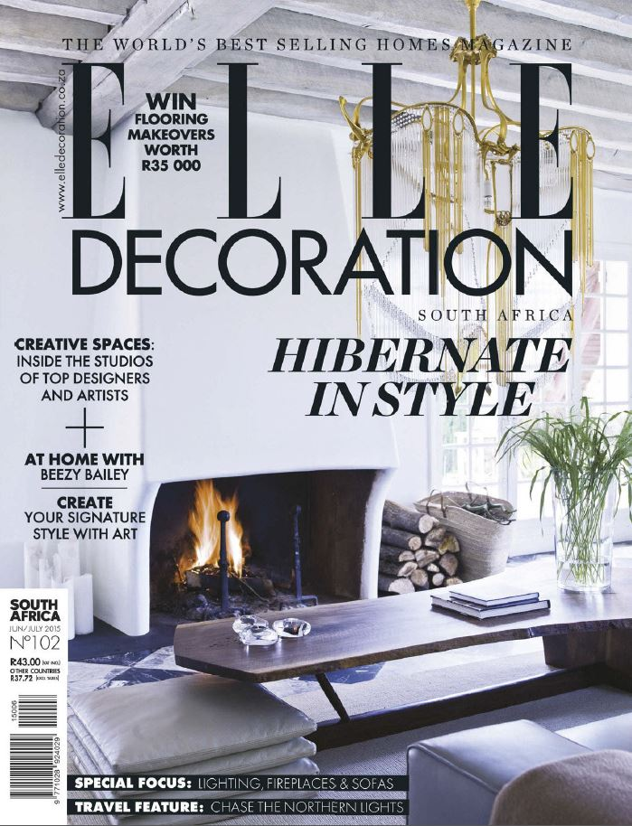 Elle Decoration South Africa - June-July 2015 free download