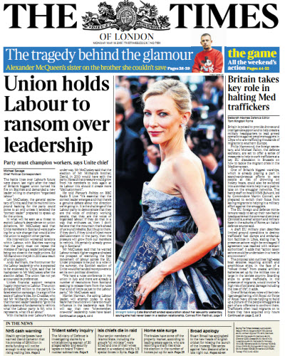 The London Times May 18 2015 free download