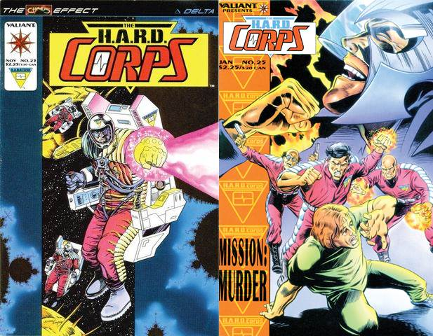 H.A.R.D. Corps #16-25 (1994-1995) free download