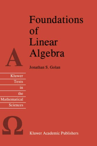 Foundations of Linear Algebra free download