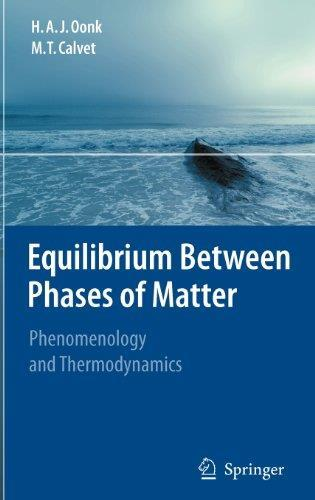 Equilibrium Between Phases of Matter: Phenomenology and Thermodynamics free download