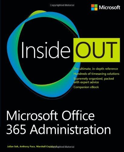 Microsoft Office 365 Administration Inside Out free download