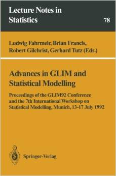 Advances in GLIM and Statistical Modelling free download