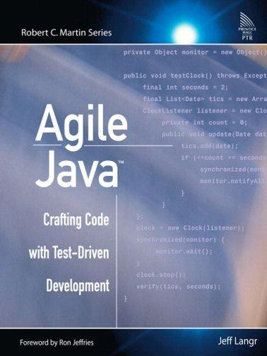 Agile Java: Crafting Code with Test-Driven Development free download