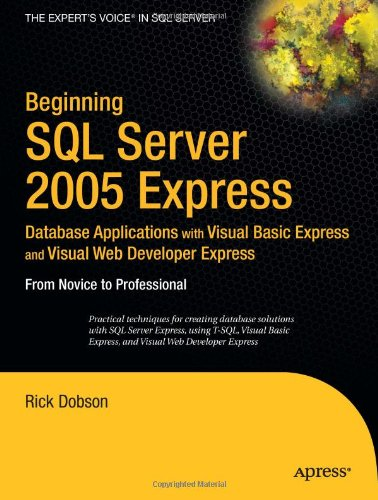 Beginning SQL Server 2005 Express Database free download