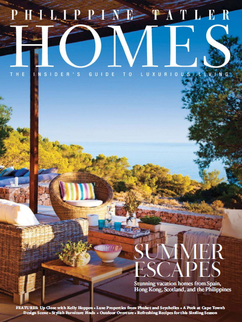 Philippine Tatler Homes Magazine Vol.10, 2015 free download