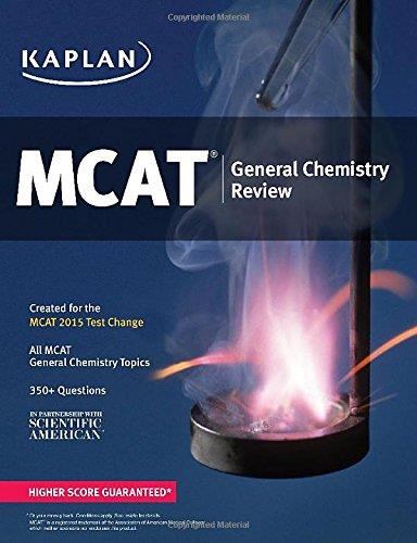 Kaplan MCAT General Chemistry Review: Created for MCAT 2015 free download