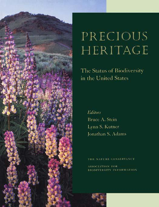 Precious Heritage: The Status of Biodiversity in the United States free download