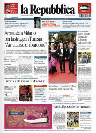La Repubblica - 21.05.2015 free download