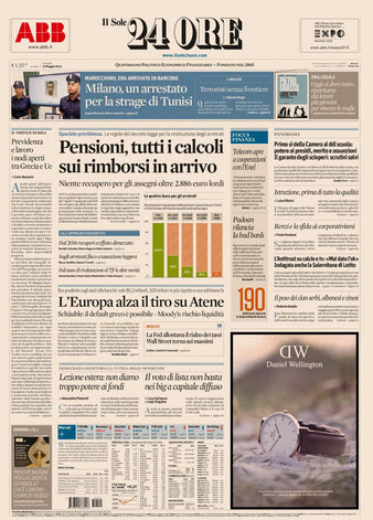 Il Sole 24 Ore - 21.05.2015 free download