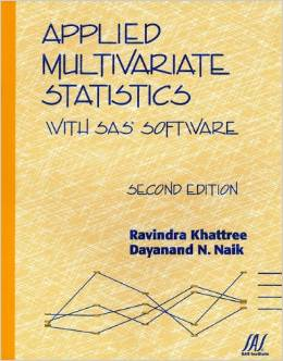 Applied Multivariate Statistics with SAS Software free download