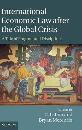 International Economic Law after the Global Crisis: A Tale of Fragmented Disciplines free download