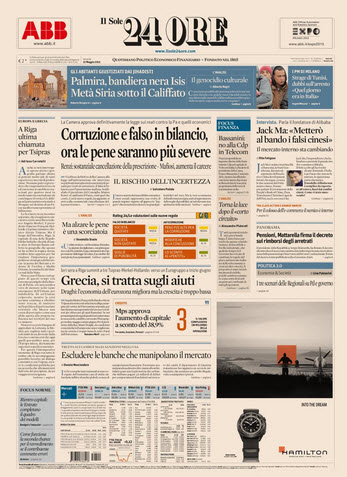 Il Sole 24 Ore - 22.05.2015 free download
