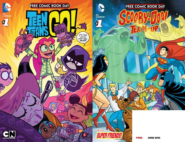 FCBD 2015 - Teen Titans Go!-Scooby-Doo Team-Up - Special Edition 001 (2015) free download
