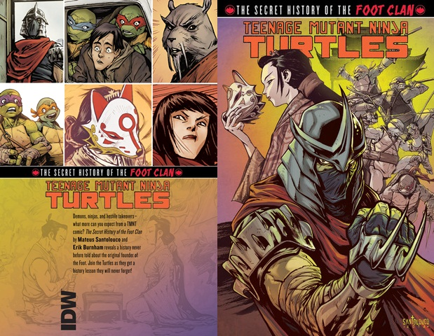 Teenage Mutant Ninja Turtles - The Secret History of the Foot Clan (2013) (digital TPB) free download