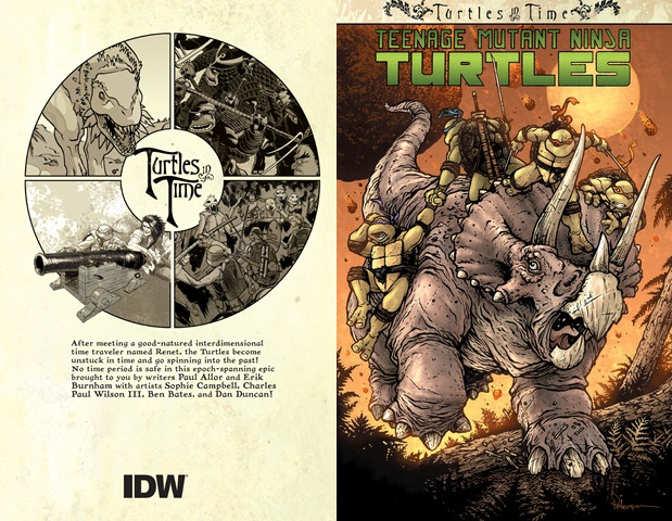 Teenage Mutant Ninja Turtles - Turtles in Time (2014) (digital TPB) free download