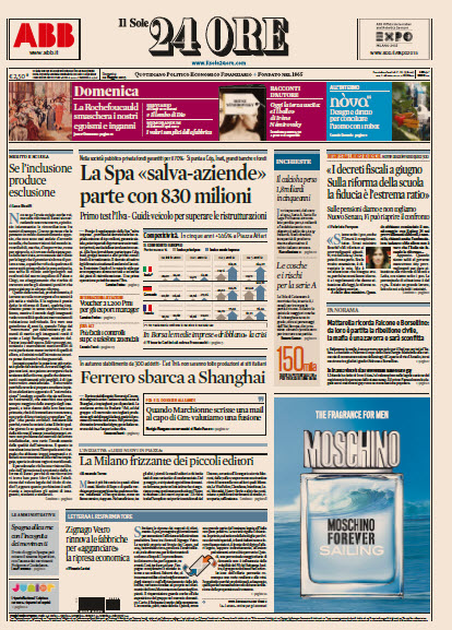 Il Sole 24 Ore - 24.05.2015 free download