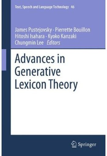 Advances in Generative Lexicon Theory free download