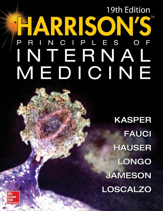Harrison's Principles of Internal Medicine, 19th Edition, 2 Volume Set free download