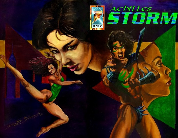 Achilles Storm 001 (1997) free download