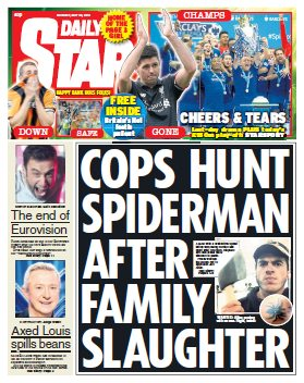 DAILY STAR - 25 Monday, May 2015 free download