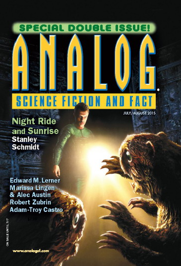 Analog Science Fiction and Fact Magazine July/August 2015 free download