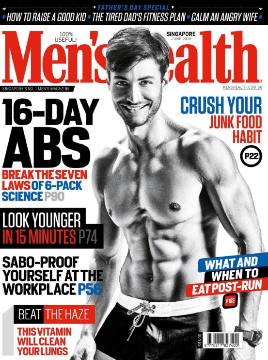 Men's Health Singapore - June 2015 free download