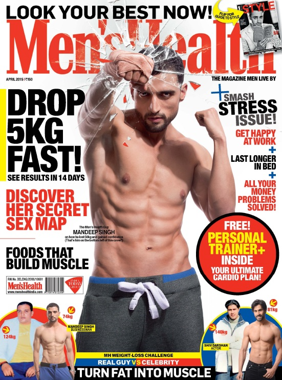 Men's Health India - April 2015 free download
