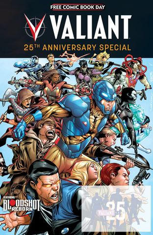 FCBD 2015 - Valiant 25th Anniversary Special (2015) free download