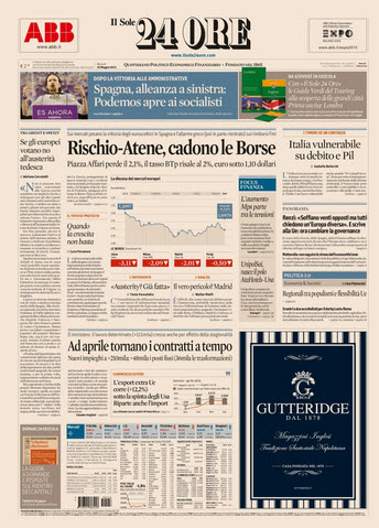 Il Sole 24 Ore - 26.05.2015 free download