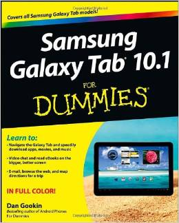 Samsung Galaxy Tab 10.1 For Dummies free download