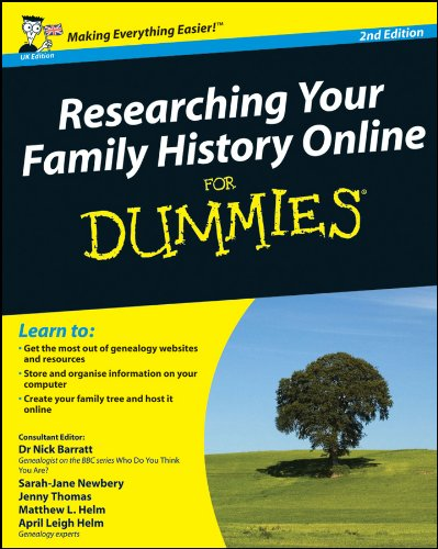 Researching Your Family History Online For Dummies by Nick Barratt download dree