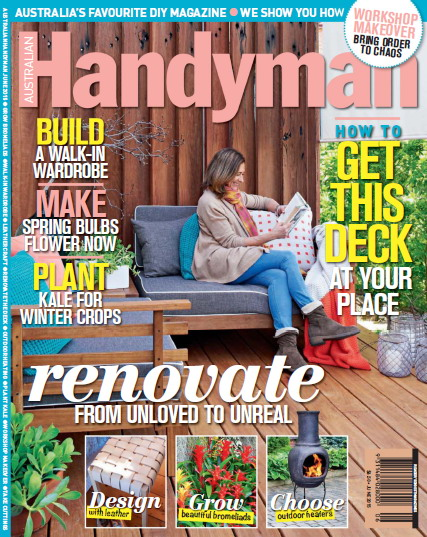 Australian Handyman Magazine June 2015 free download