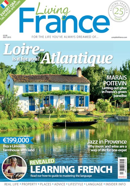 Living France - July 2015 free download
