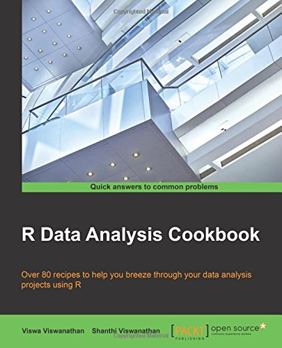 R Data Analysis Cookbook free download