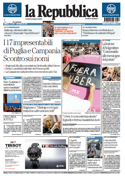 La Repubblica - 27.05.2015 free download