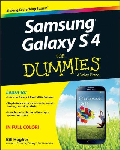 Samsung Galaxy S 4 For Dummies free download