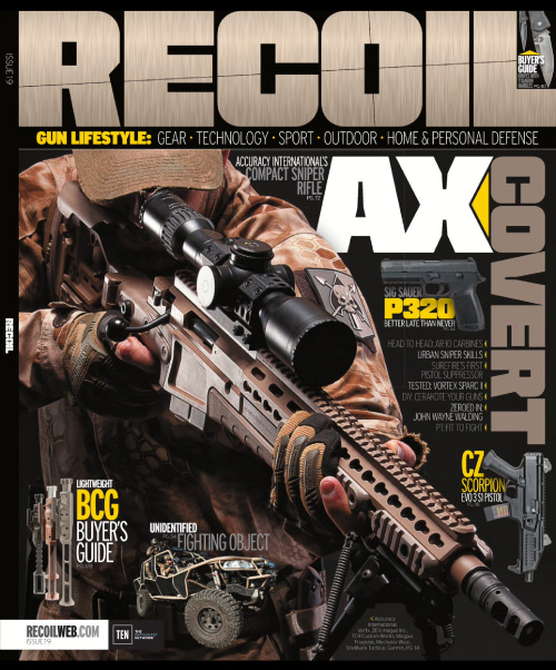 Recoil - July/August 2015 free download